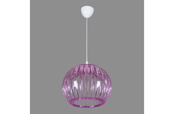Светильник подвесной 0336/1 розовый (5) (1)