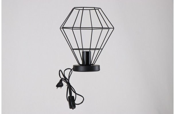 Декоративная лампа 4064 BK+BK (1) (1)