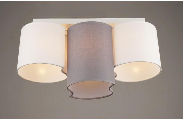 Люстра потолочная модерн 1810/3 GR WT (6) (1)