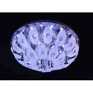 9050/9 Ø600 E27+LED+ПДУ люстра потолочная круг